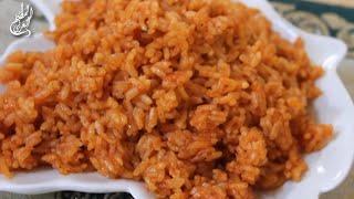 رز احمر بالحبة القصيرة (تمن احمر ، الارز الاحمر) Red Rice with Short Grain