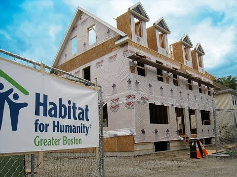 Habitat for Humanity Builds Homes for the Needy in Boston