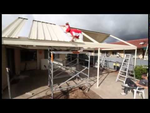 Stratco Outback | Gable Clearspan | Veranda, Patio, Carport | How-To Installation