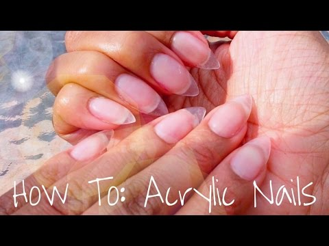 Acrylic Nails Tutorial 2016! + Almond Shaped|| How To Do Your Own Acrylic Nails!!