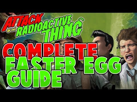 Full Easter Egg Guide (Simplest) | Attack of the Radioactive Thing | DLC 3