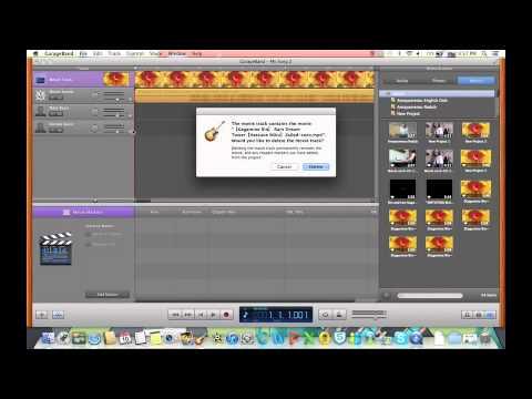 Getting Audio to Garageband from iMovie