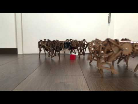 DIY Strandbeest now with improved motors