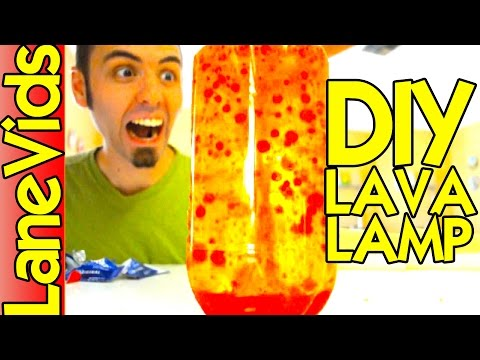 HOW TO MAKE A HOMEMADE LAVA LAMP | Lava Lamp DIY Science Experiment