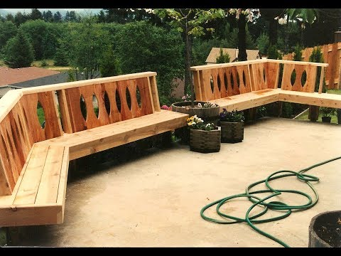 Deck Bench Designs | Deck Benches and Deck Seating Solutions