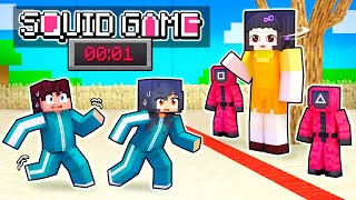 Playing SQUID GAME In Minecraft!