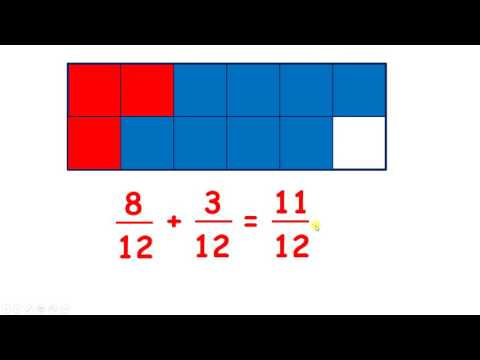 Solve missing number problems for addition and subtraction with fractions