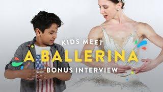 Kids Meet a Ballerina (Bonus Interview)   Kids Meet   HiHo Kids