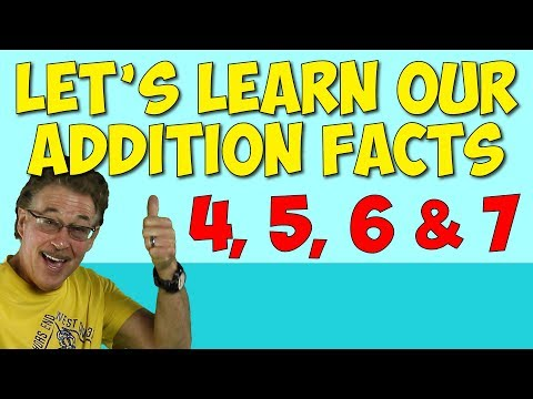Let's Learn Our Addition Facts 2 | Addition Song for Kids | Math for Children | Jack Hartmann