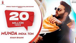 Khan Bhaini   Munda India Ton Video   New Punjabi Songs 2020 Latest Punjabi Songs 2019   Ditto Music