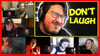 Download Markiplier Try Not To Laugh Challenge #21 REACTION MASHUP Video