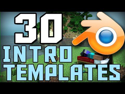 Top 30 Minecraft Blender Intro Template