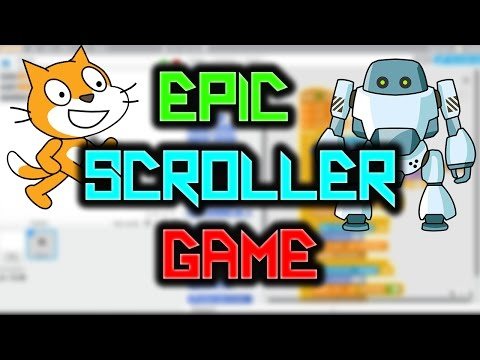 Scratch Tutorial: How to make an amazing scroller game!