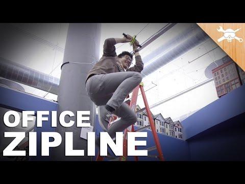Building an Office Zip Line