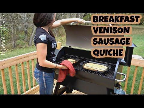 Breakfast Venison Sausage Quiche