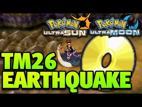 How to Get Earthquake Location – Pokemon Ultra Sun and Moon TM 26 Earthquake Location