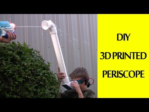 DIY 3D Printed Periscope