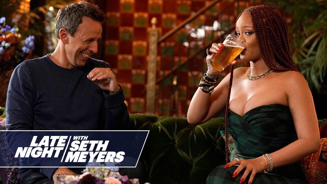 Seth and Rihanna Go Day Drinking