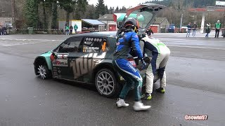Spa Rally 2018 Show & Sparks On Muddy Roads