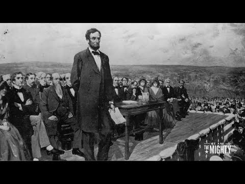 Lincoln delivers Gettysburg Address - 11/19/1863
