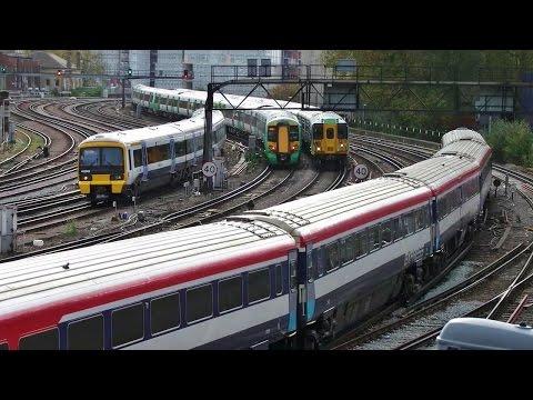 British Trains (from/to London Victoria) at Ebury Bridge