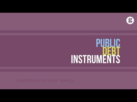 Public Debt Instruments