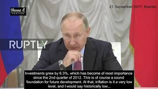US sanctions flop: Putin summons business leaders