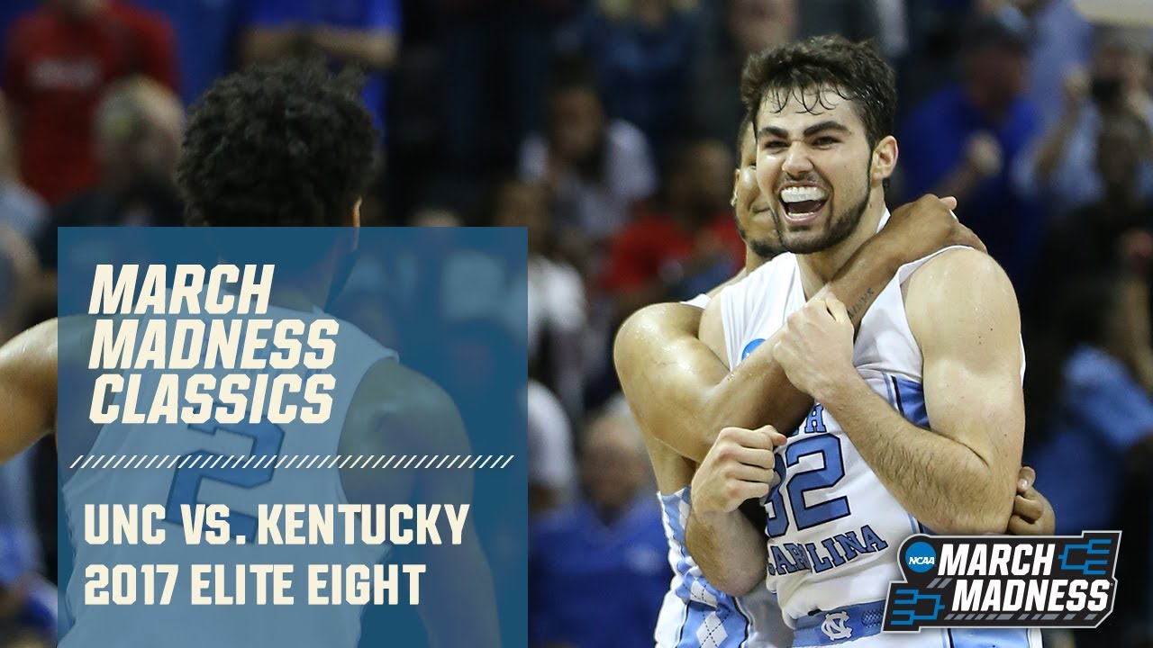 North Carolina vs. Kentucky: 2017 Elite Eight | FULL GAME