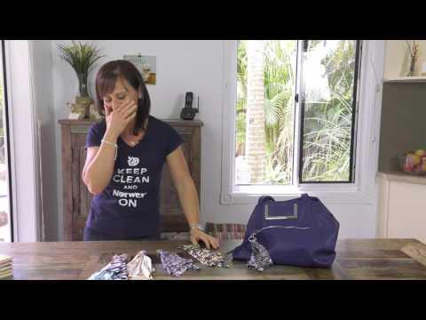 Linda's Optic Scarf Bloopers - Mini Moment