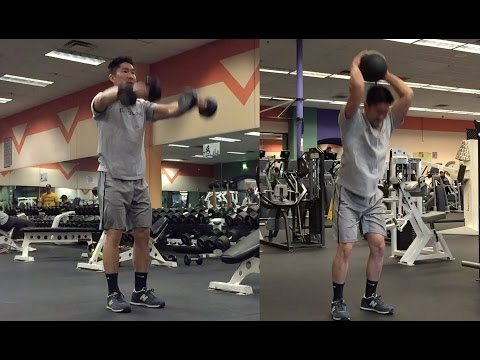 My Upper Body JUMP TRAINING workout