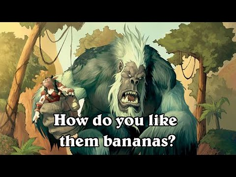 hearthstone how do you like them 10 bananas mukla combo