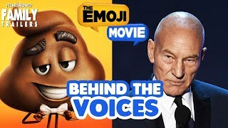 THE EMOJI MOVIE | Behind the Voices of the family animated comedy