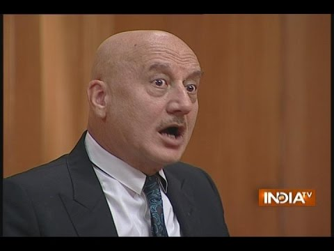Anupam Kher on His One Sided Love When He Was Lisper