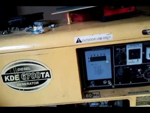 Voltage regulator 5kw avr for kipor mono single phase diesel.