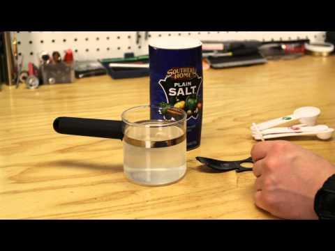 DIY Saline Solution