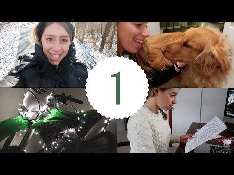 MORNING STUDY ROUTINE FOR FINALS | 12 Days of Vlogmas Day 1