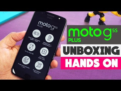 Moto G5s Plus with Dual Camera Unboxing & Hands on Overview 15999/- ⚡🔥⚡🔥⚡🔥⚡