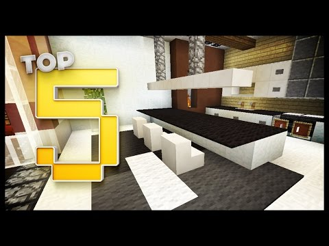 Minecraft - Kitchen Designs & Ideas