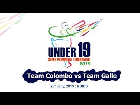 Xxx Mp4 Team Colombo Vs Team Galle U19 Super Provincial 50 Over Tournament 2019 3gp Sex
