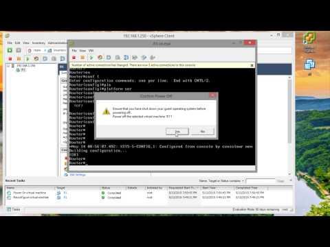 How to Setup CSR1000v on VMware ESXi