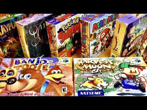 COMPLETE N64 COLLECTION! Banjo Kazooie, Pokemon Snap, Mario Party! #16
