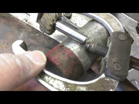 How to pull a Ford Distributor Gear off a small block Ford.