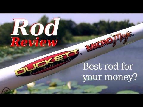 DUCKETT Micro Magic - Rod Review (Hat Cam Bass)