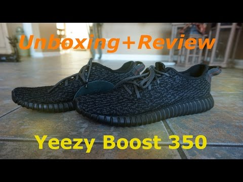 AUTHENTIC Review!!?! - Adidas YEEZY BOOST 350  (Pirate Black)