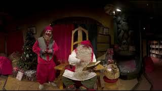 Telia and Nokia Take Children on a Virtual Visit to Santa's Office Over 5G