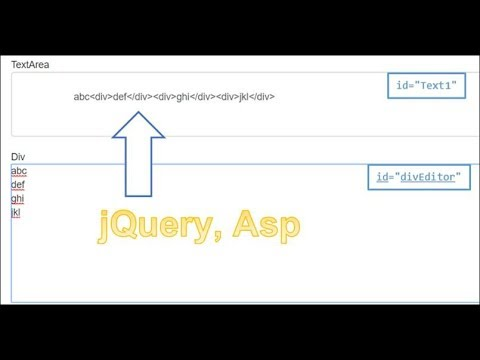 jQuery : Button.click call a function, get HTML of Element by id. Set Text to TextArea. Asp Core