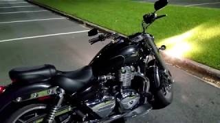 Triumph Commander with Vance and Hines idling - PakVim net