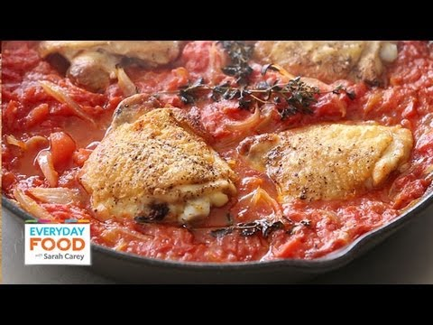 Chicken in Tomatoes | Everyday Food with Sarah Carey