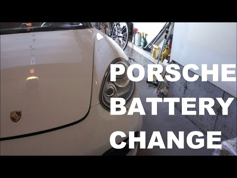 How To Change the Battery on your Porsche