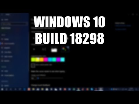 Windows 10 Build 18298 - Improved Sign-in Options, Bright New Cursors & More!